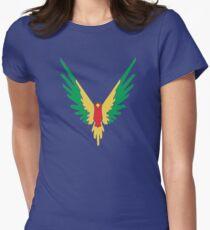BIRD COLOUR LOGAN Women's Fitted T-Shirt