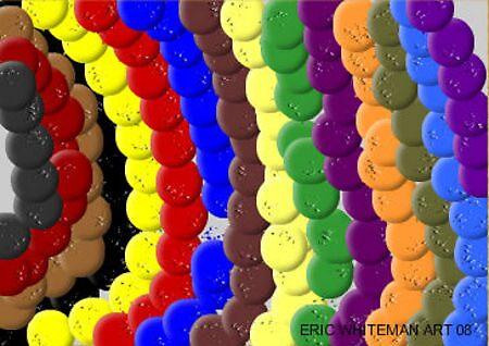 (HELLO GOODBYE) ERIC WHITEMAN ART  by eric  whiteman