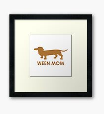Ween Mom (Brown) Framed Print