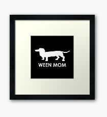 Ween Mom (White) Framed Print