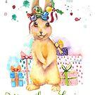 « Lapin de Noël » par cindybarillet
