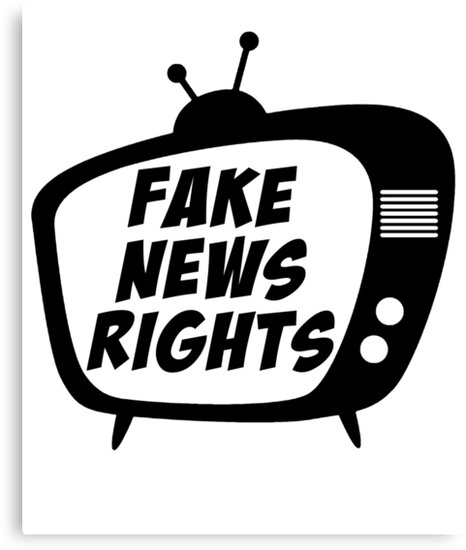 Fake News Rights Media Television Story by Zkoorey
