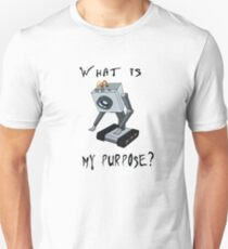 Rick and Morty Butter Robot T-Shirt - What is My Purpose? - Awesome Rick and Morty Gift - Funny Rick and Morty Hoodie - Pass the Butter  Unisex T-Shirt