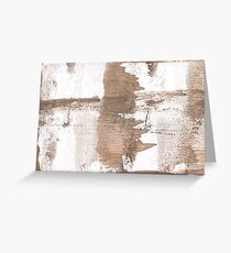 Gray Brown blurred watercolor background Greeting Card
