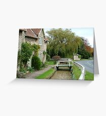 A House in Hovingham Greeting Card