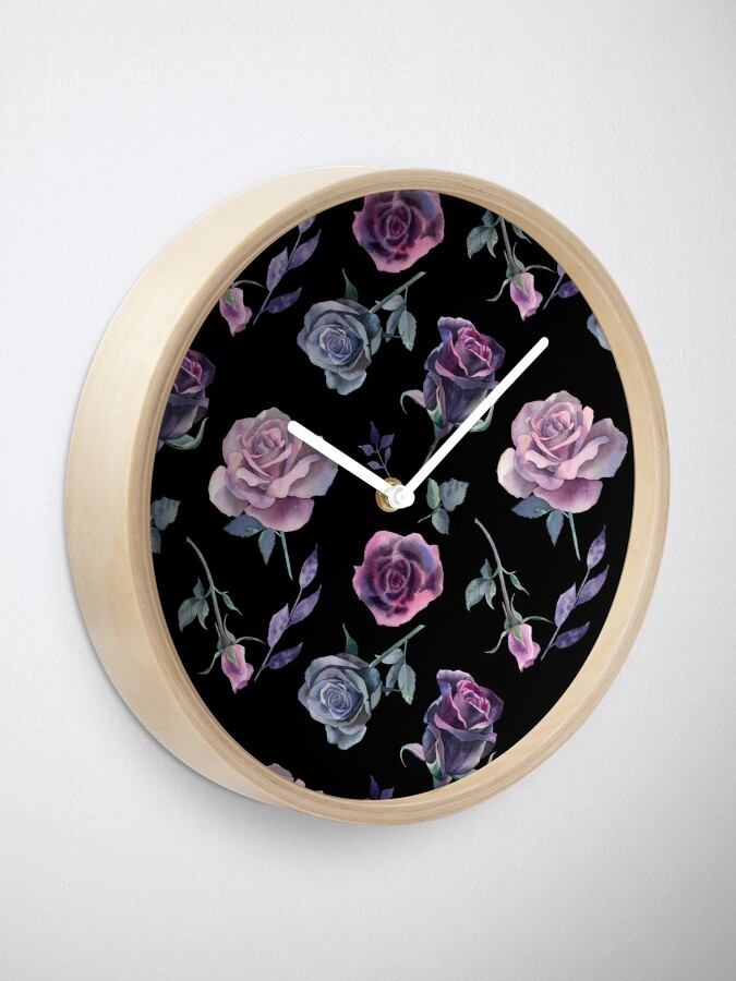 Alternate view of Dark Garden Clock