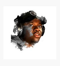 Big Shaq - Half Tone Photographic Print