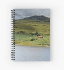 Isolated Bothy Spiral Notebook