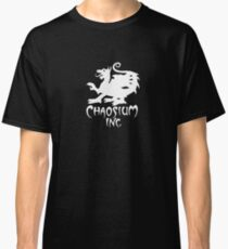 Chaosium Inc. Official T-Shirt (White Logo) Classic T-Shirt