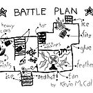 Kevin's battle plan - Home Alone inspired graphic by bubivisualarts