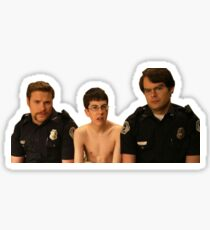 Superbad - Police and McLovin Sticker