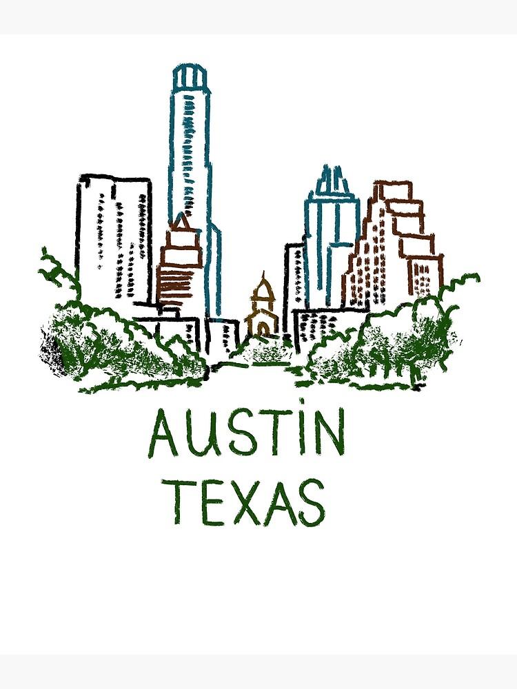 Austin, Texas by MichaelRellov