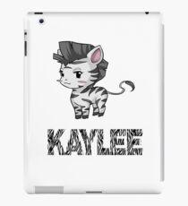 Zebra Kaylee iPad Case/Skin