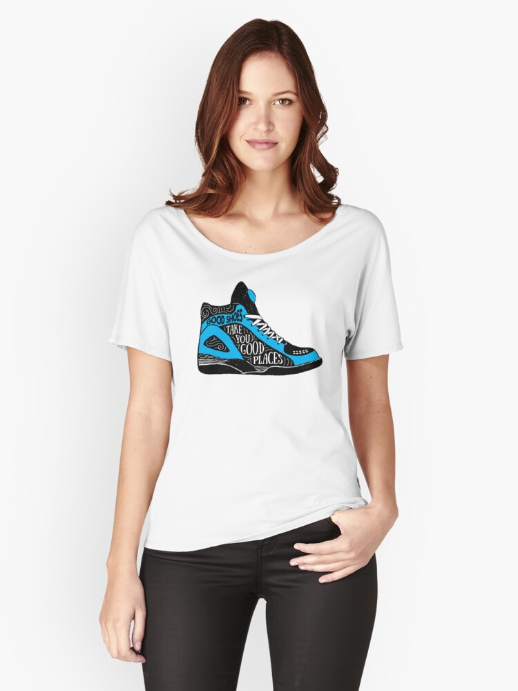 Good Shoes Take You Good Places Old School Hip Hop Style Shoe