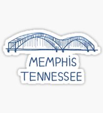 Memphis, Tennessee Sticker