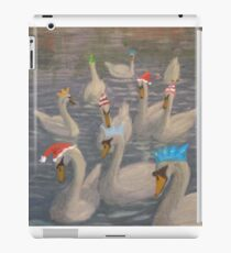 Nene Swans Christmas Party iPad Case/Skin