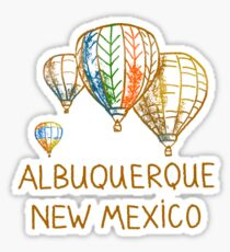 Albuquerque, New Mexico Sticker