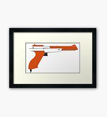 Zap some ducks! Framed Print