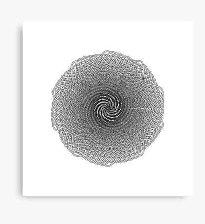 Polar Flower X Canvas Print