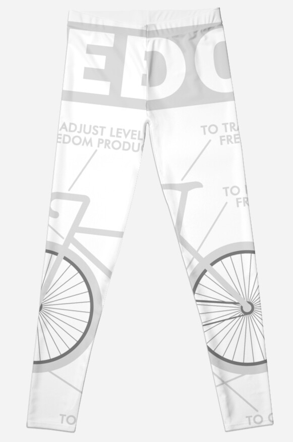 The Anatomy Of Freedom Bicycle T Shirt Leggings By Daniele2016