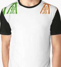 Galway T-Shirt Irish Celtic Knot Ireland Flag St. Patrick's Day Graphic T-Shirt