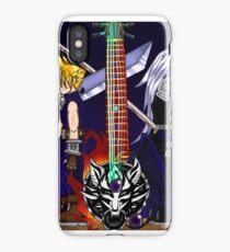 Fusion Keyblade Guitar #22 - Fenrir & One-Winged Angel iPhone Case/Skin