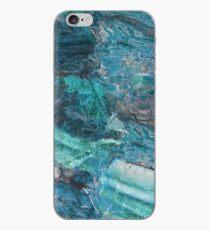 Vinilo o funda para iPhone Siena Turchese - mármol azul