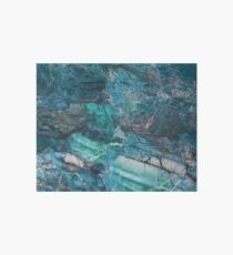 Siena Turchese - blue marble Art Board