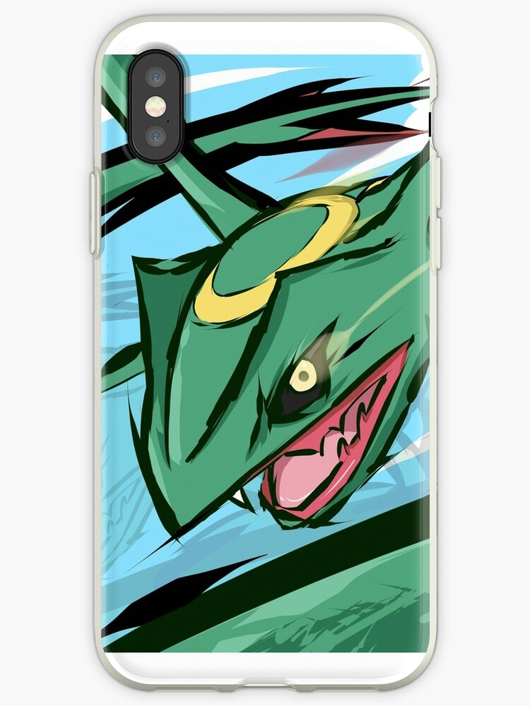 Pokemon Rayquaza iphone case