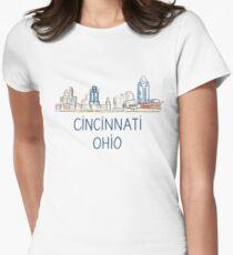 Cincinnati, Ohio Fitted T-Shirt