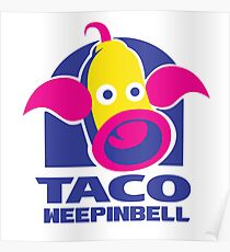 Taco Weepinbell  Poster