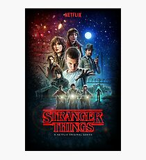 Stranger Things Season 1 Photographic Print