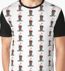 Weihnachten Bin Huhn Grafik T-Shirt