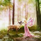 The Princess and the Reindeer by gingerkelly