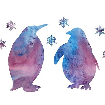 Penguins  by TheJollyMarten