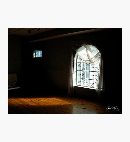 Sunlight Through Two Windows Photographic Print
