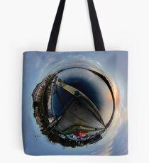 Foyle Marina at Dawn, Stereographic Tote Bag