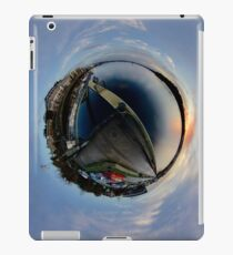 Foyle Marina at Dawn, Stereographic iPad Case/Skin
