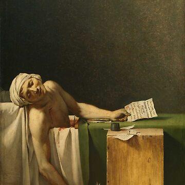 J-L DAVID Marat 1793 by TheGrandTour