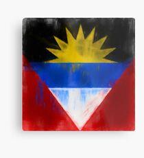 Antigua And Barbuda Flag Reworked No. 1, Series 1 Metalldruck