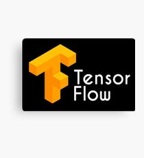 tensorflow - the computer application Canvas Print