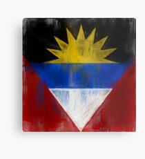 Antigua And Barbuda Flag Reworked No. 1, Series 2 Metalldruck