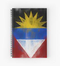 Antigua And Barbuda Flag Reworked No. 1, Series 2 Spiralblock