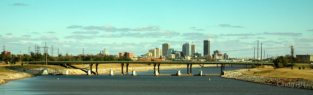 OKC Skyline by Cindy RN