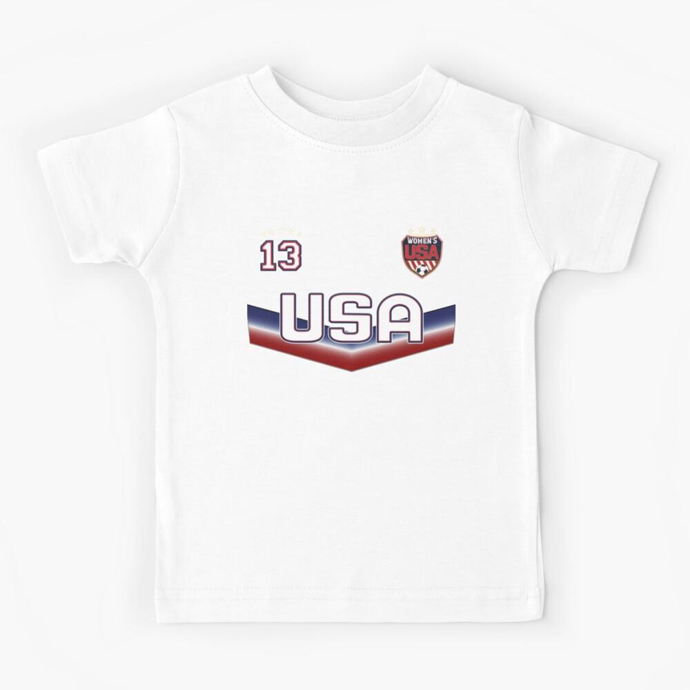 USA Soccer Female Team Nummer 13 Kinder T-Shirt