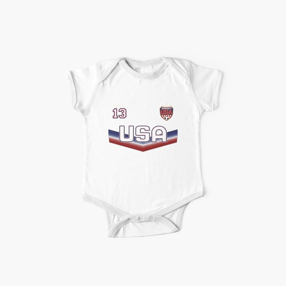 USA Soccer Female Team Nummer 13 Baby Body