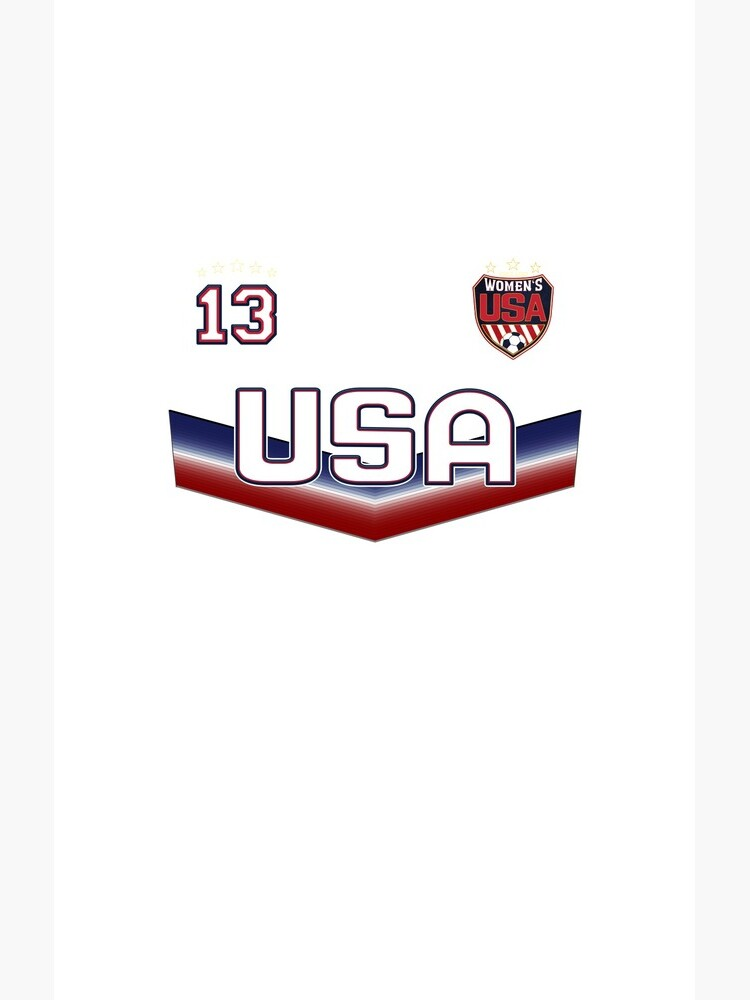 USA Soccer Female Team Nummer 13 von fermo