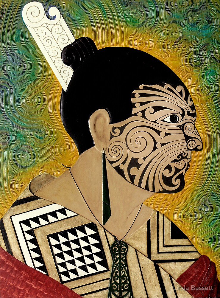 Tattooed Warrior by Linda Bassett