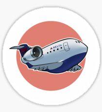 Delta CRJ-200 Sticker