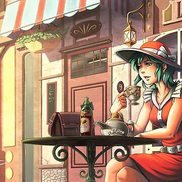 Parisian Tea time by hedrick
